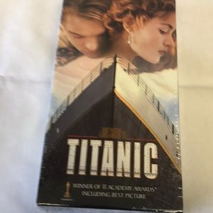 Titanic VHS tapes, two tapes